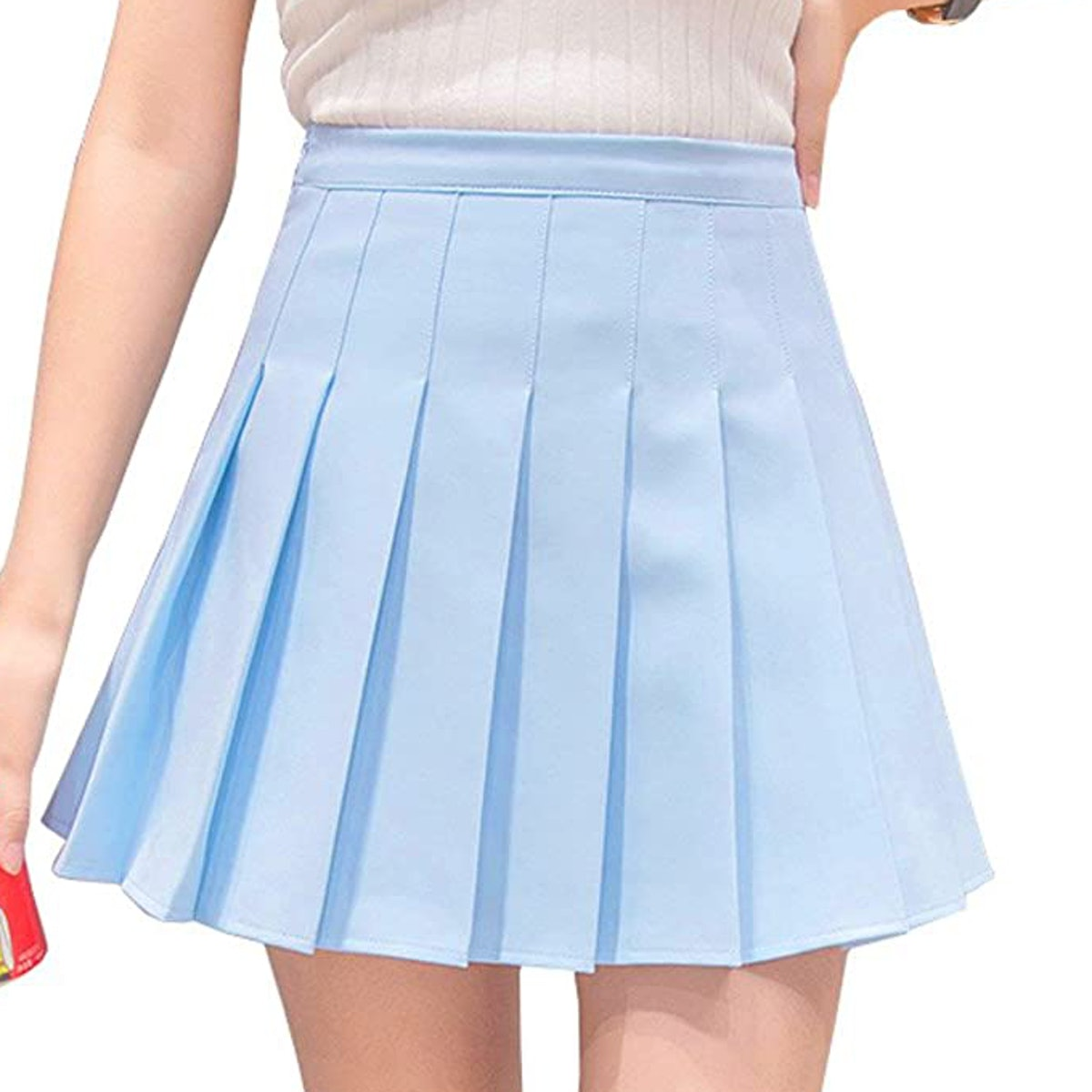 Hoerev High-Waist Pleated Tennis Skirt