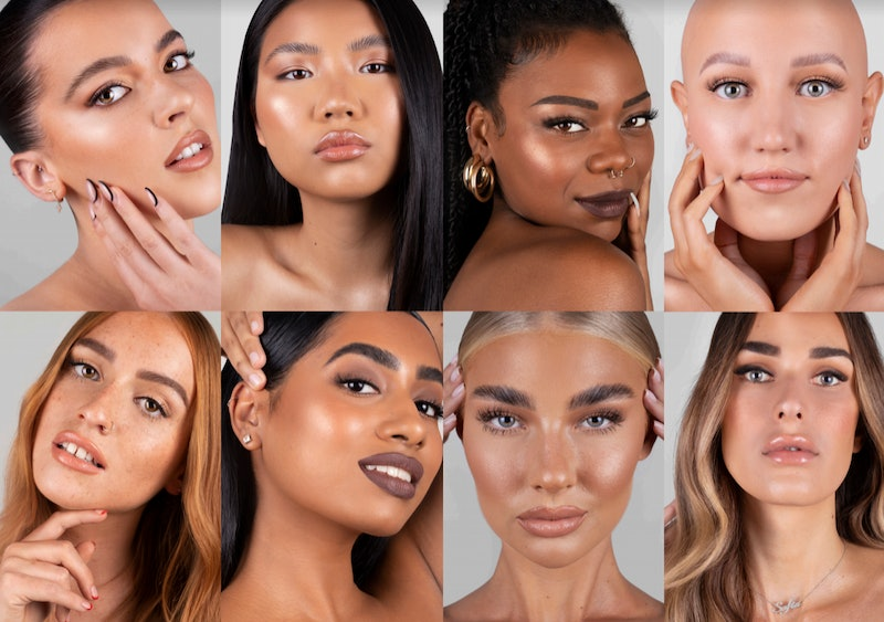 REFY brow collection models