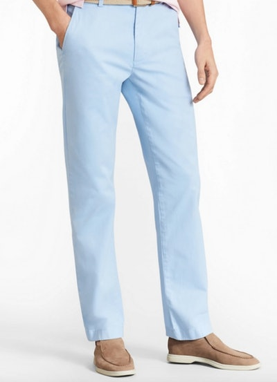 Clark Fit Garment-Dyed Stretch Chino