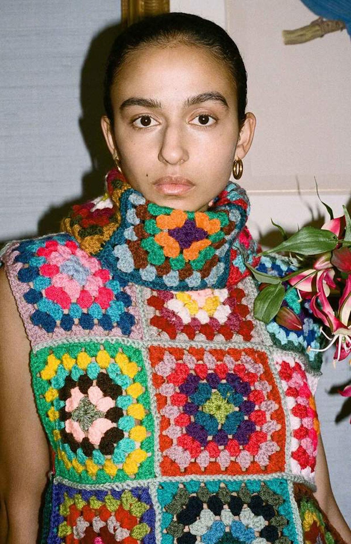 Nicole Crochet Top