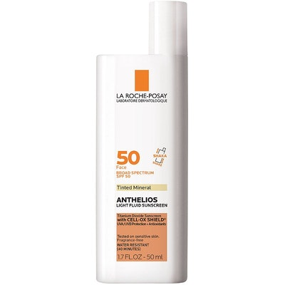 La Roche-Posay  Anthelios Mineral Tinted Ultra Light Sunscreen Fluid SPF 50