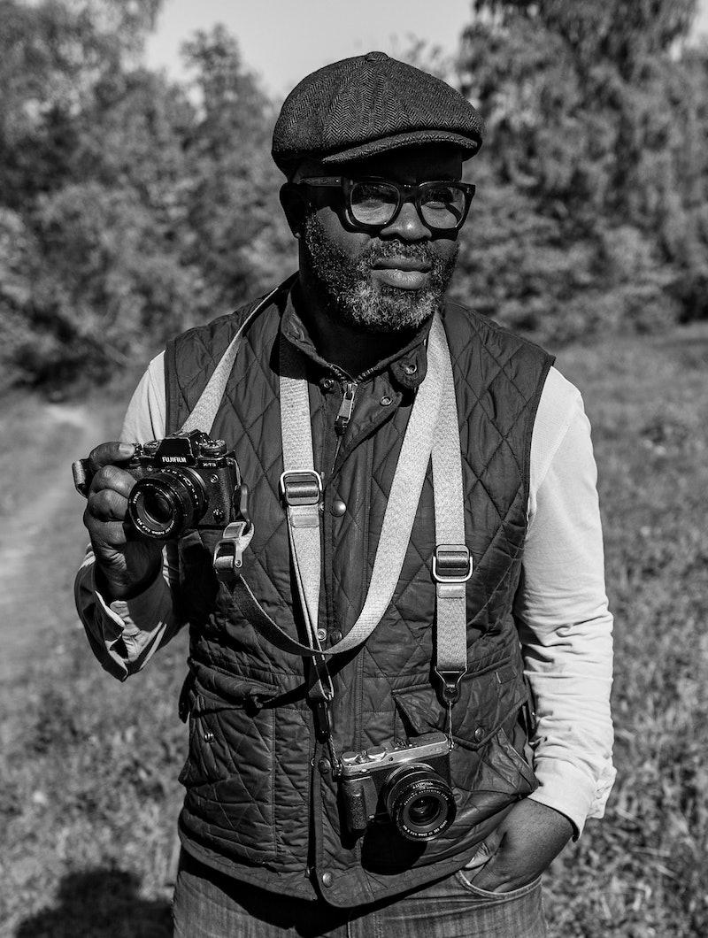 Portrait of photographer Misan Harriman