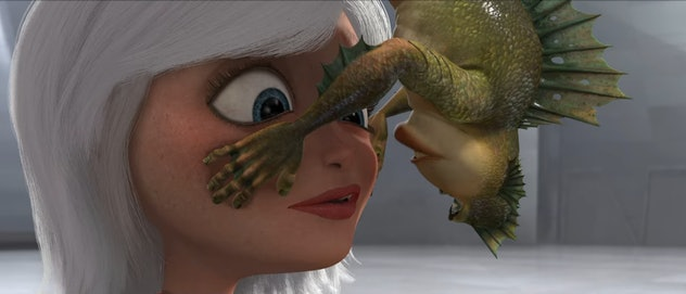 'Monsters vs Aliens' is an animated science fiction family movie