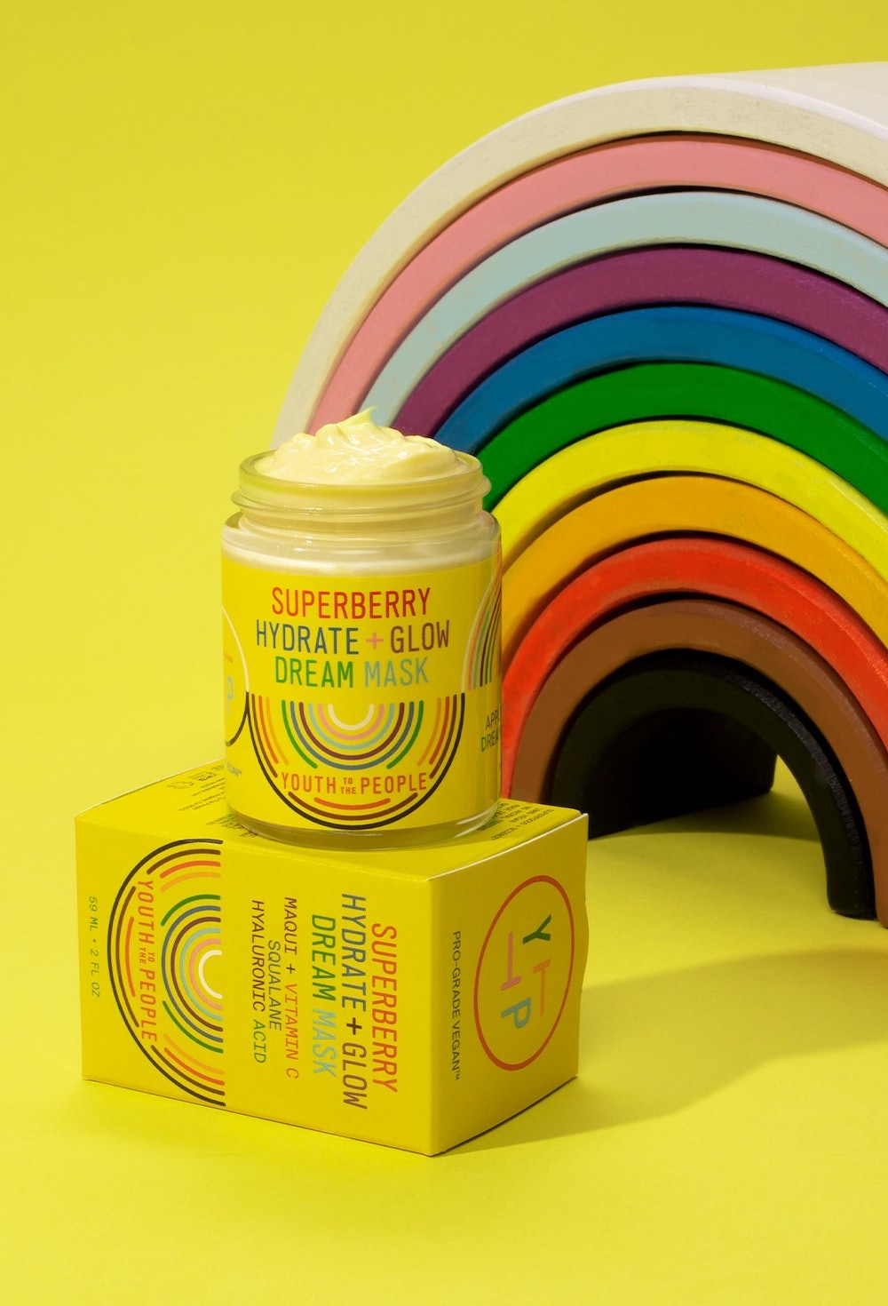 Superberry Hydrate + Glow Pride Edition Dream Mask