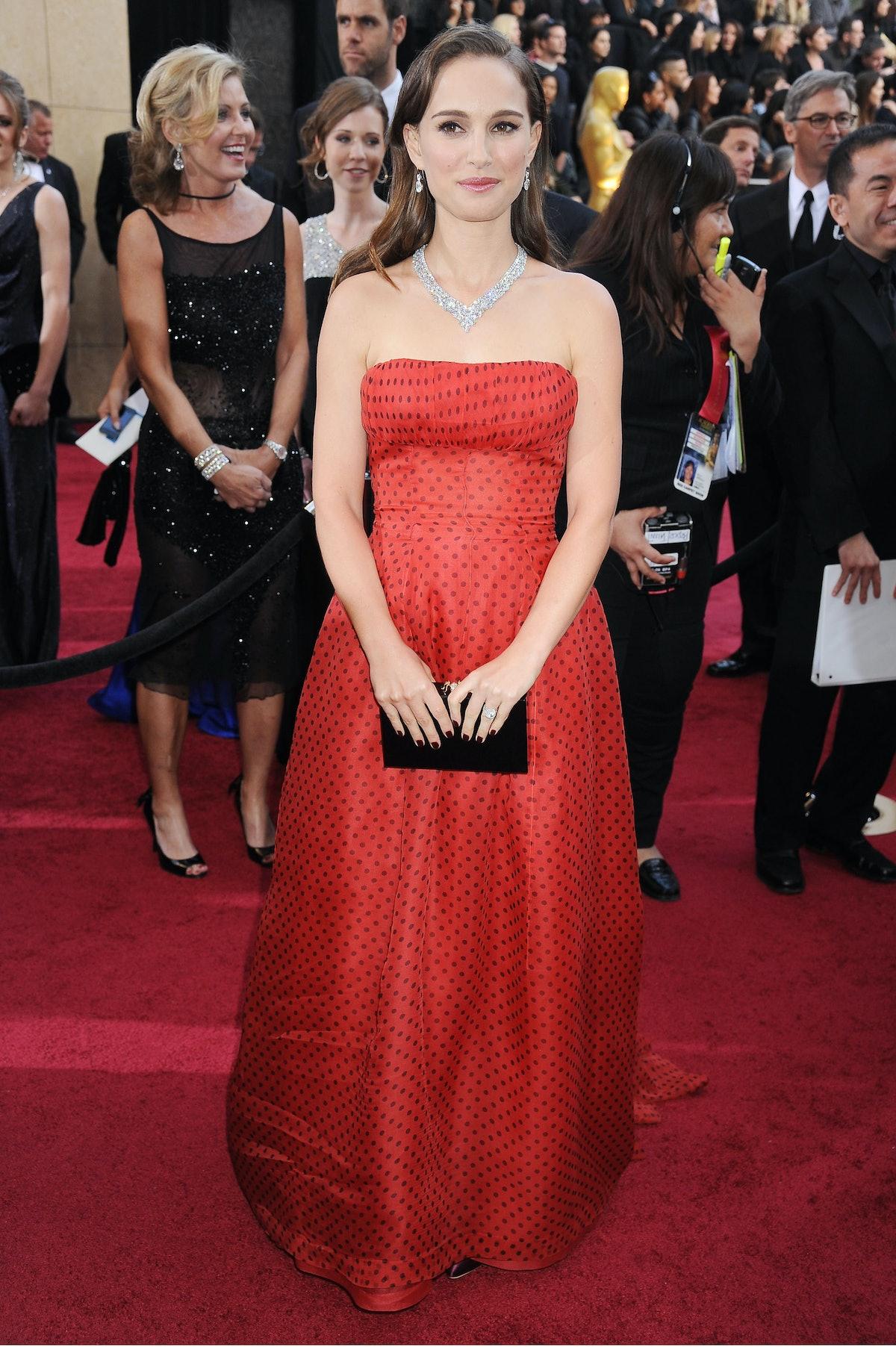 Natalie Portman in Red