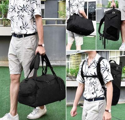 NEWHEY Waterproof Weekender Bag