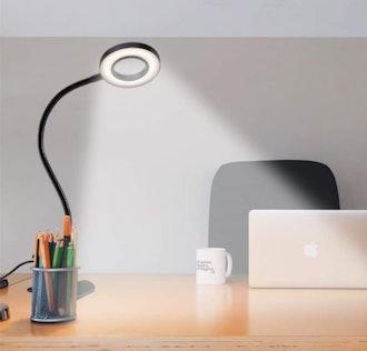 QQAPPU Clip Reading Lamp