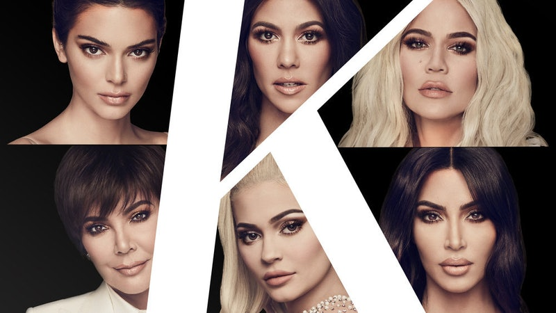 'Keeping Up With The Kardashians' promo collage