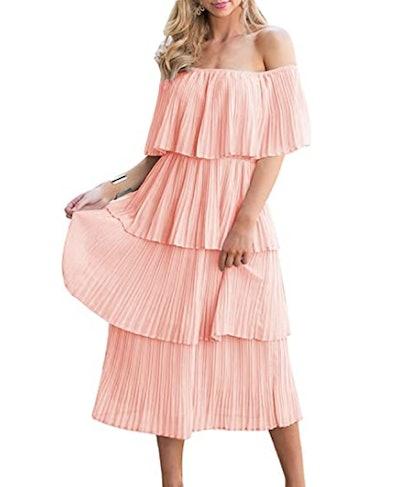 ETCYY Chiffon Maxi Dress