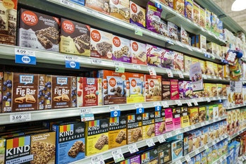 nutritional bars and fiber products
