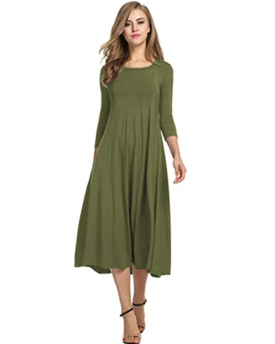 Hotouch Flare Midi Dress