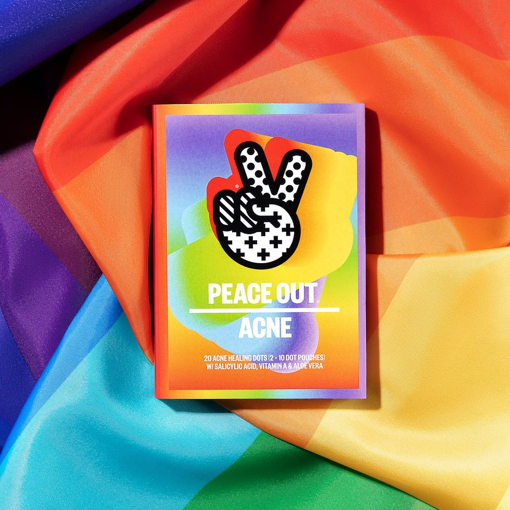 Limited Edition Peace Out Pride Acne Dots