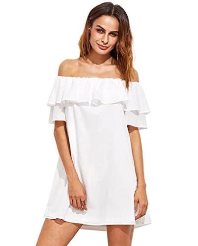 Milumia Ruffle Shift Dress
