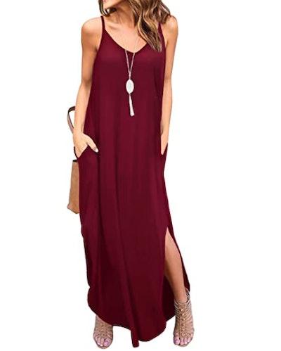 GRECERELLE Loose Maxi Dress