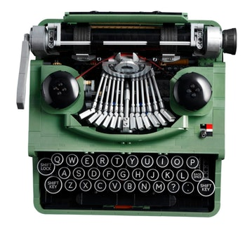 Lego created a typewriter kit based on a fan design.