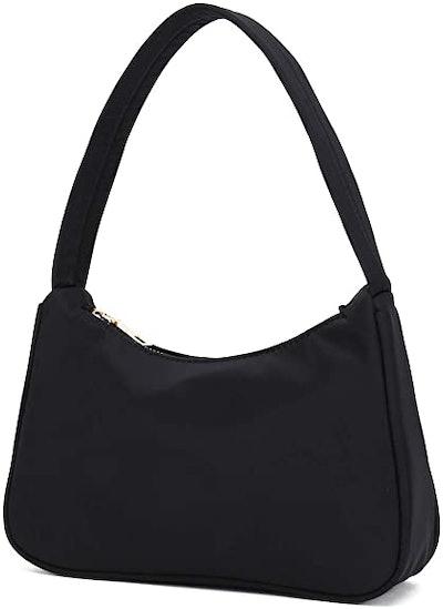 YIKOEE Small Nylon Shoulder Bag