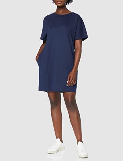 Meraki Loose Fit Shift Dress with Pockets