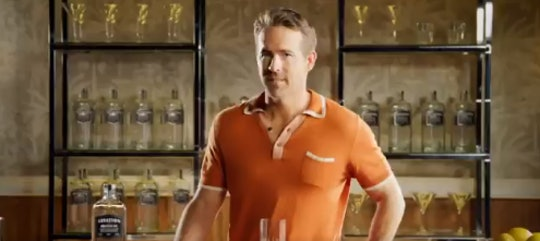 Ryan Reynolds created a new Father's Day cocktail.