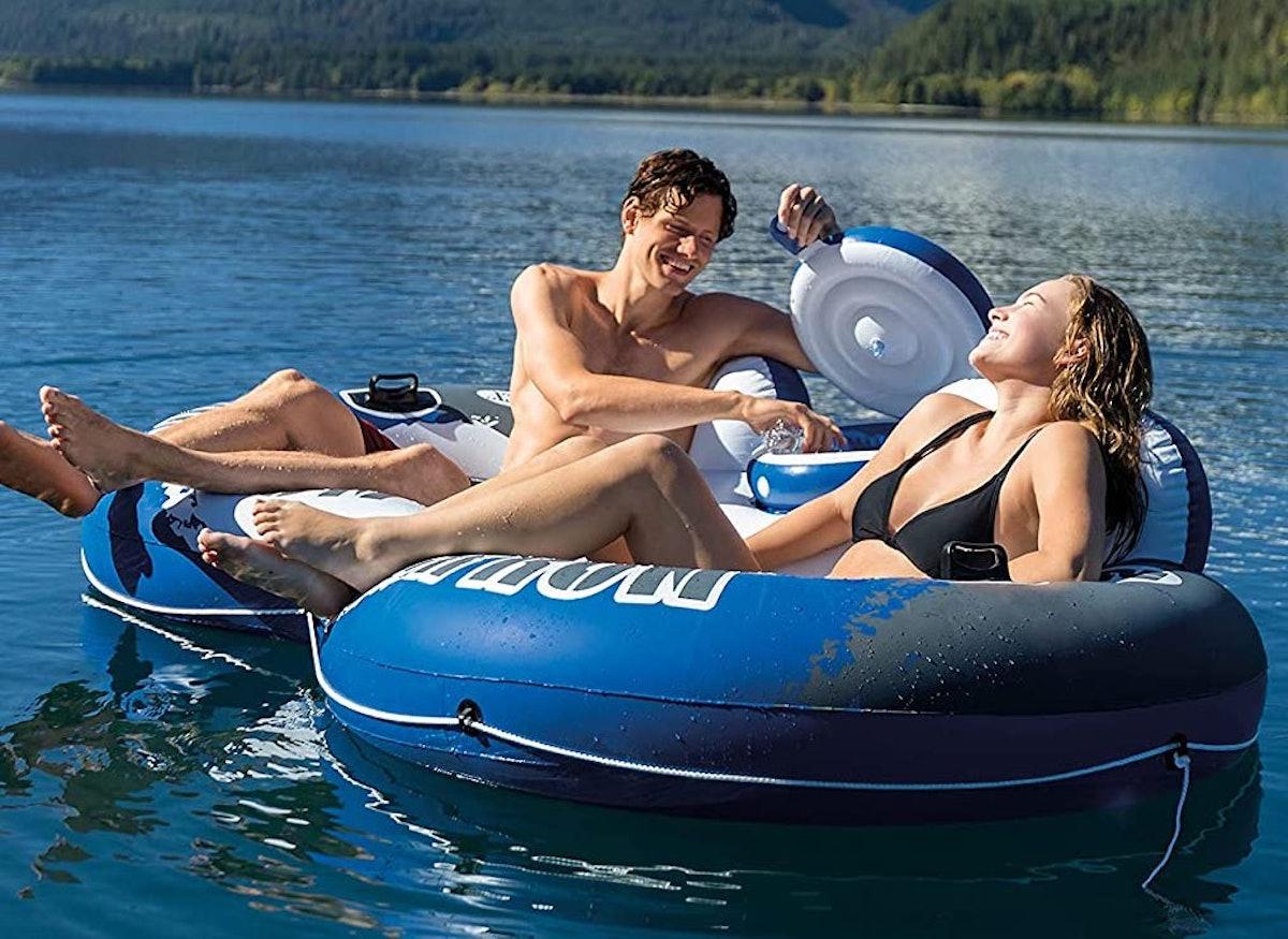 INTEX River Run II Inflatable Pool Lounge