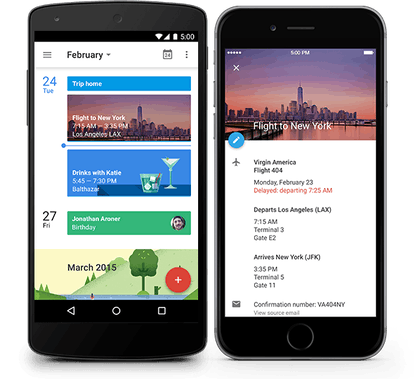 Google Calendar is a must-have organization app.