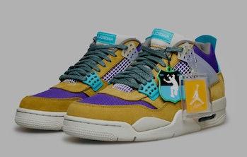 """Union """"Desert Moss'"""" Air Jordan 4"""