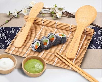 GOSGOONE Sushi Making Kit (9-Piece)