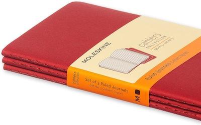 Moleskine Cahier Mini Journals (3-Pack)