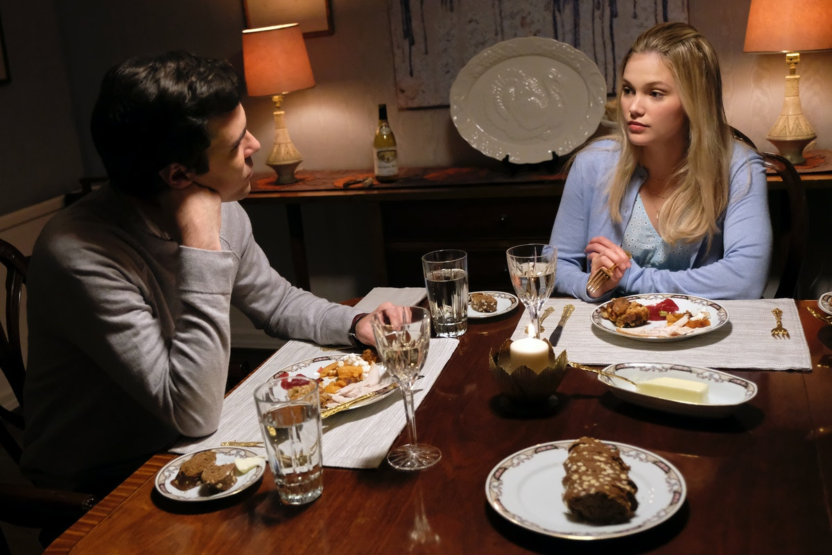 BLAKE LEE as Martin Harris and OLIVIA HOLT as Kate Wallis in Freeform's 'Cruel Summer' also on Hulu