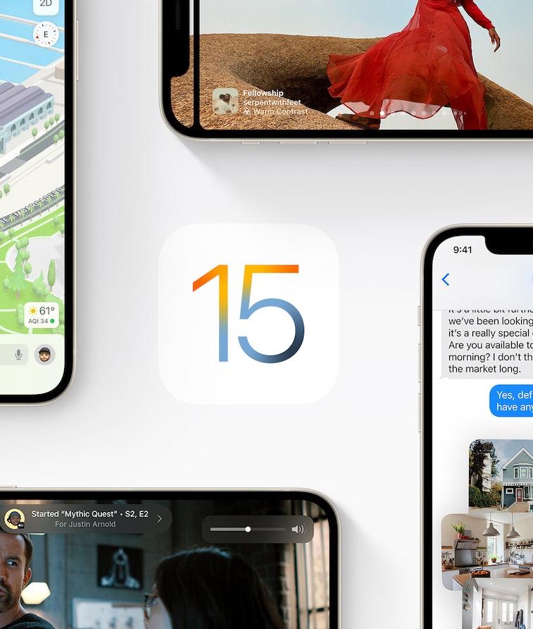Apple's iOS 15.