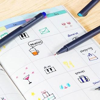 Taotree Fineliner Pen Set (24-Count)