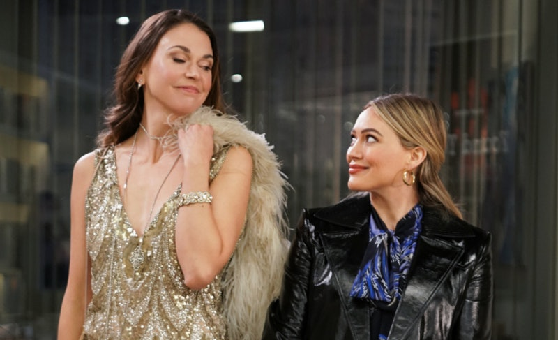 Kelsey and Liza on Younger via the Paramount Plus press site