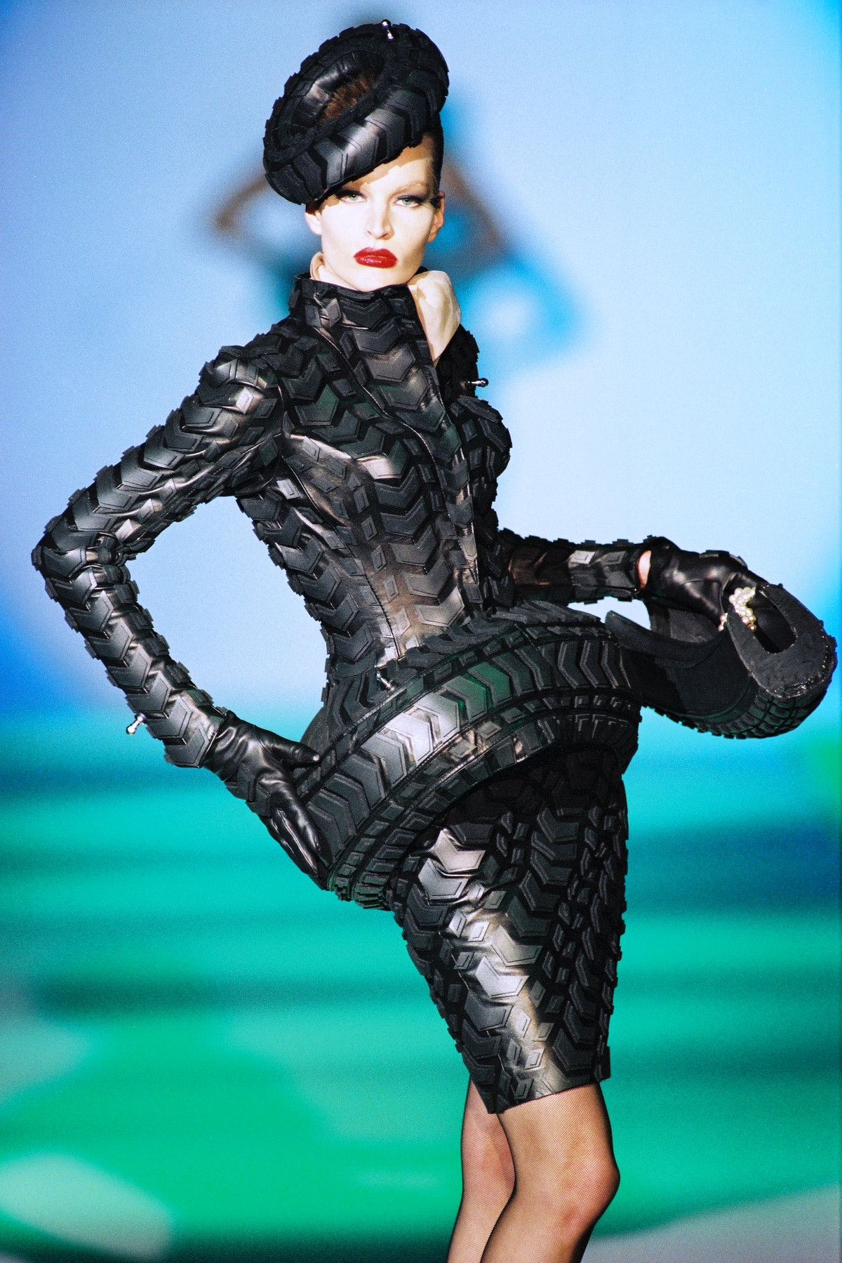 A look from Thierry Mugler's Les Insectes collection