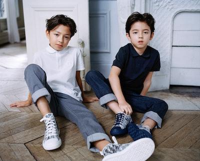 Dior B23 Kids High-Top Sneaker