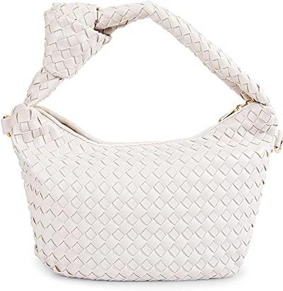 Coutgo Woven Shoulder Bag