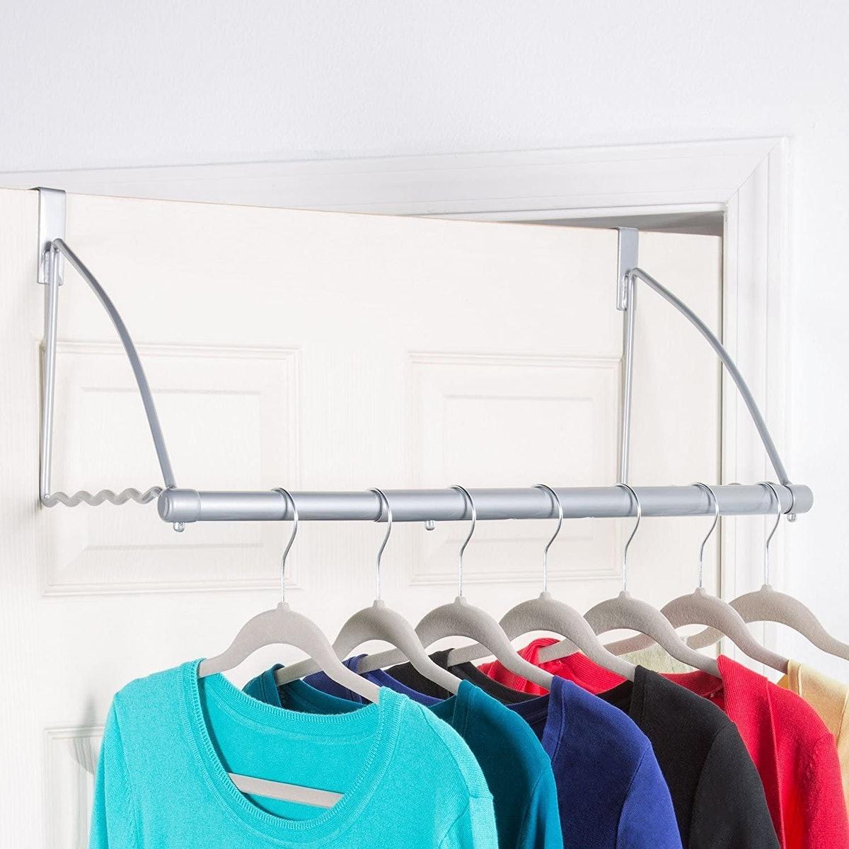 HOLDN' STORAGE Over the Door Closet Rack