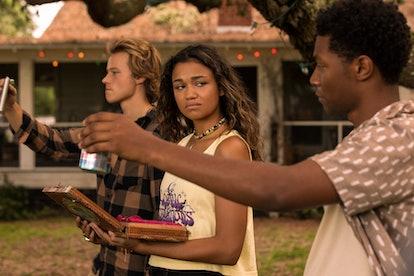 Season 2 of 'Outer Banks' teases a 'new-found secret.' Photo via Netflix