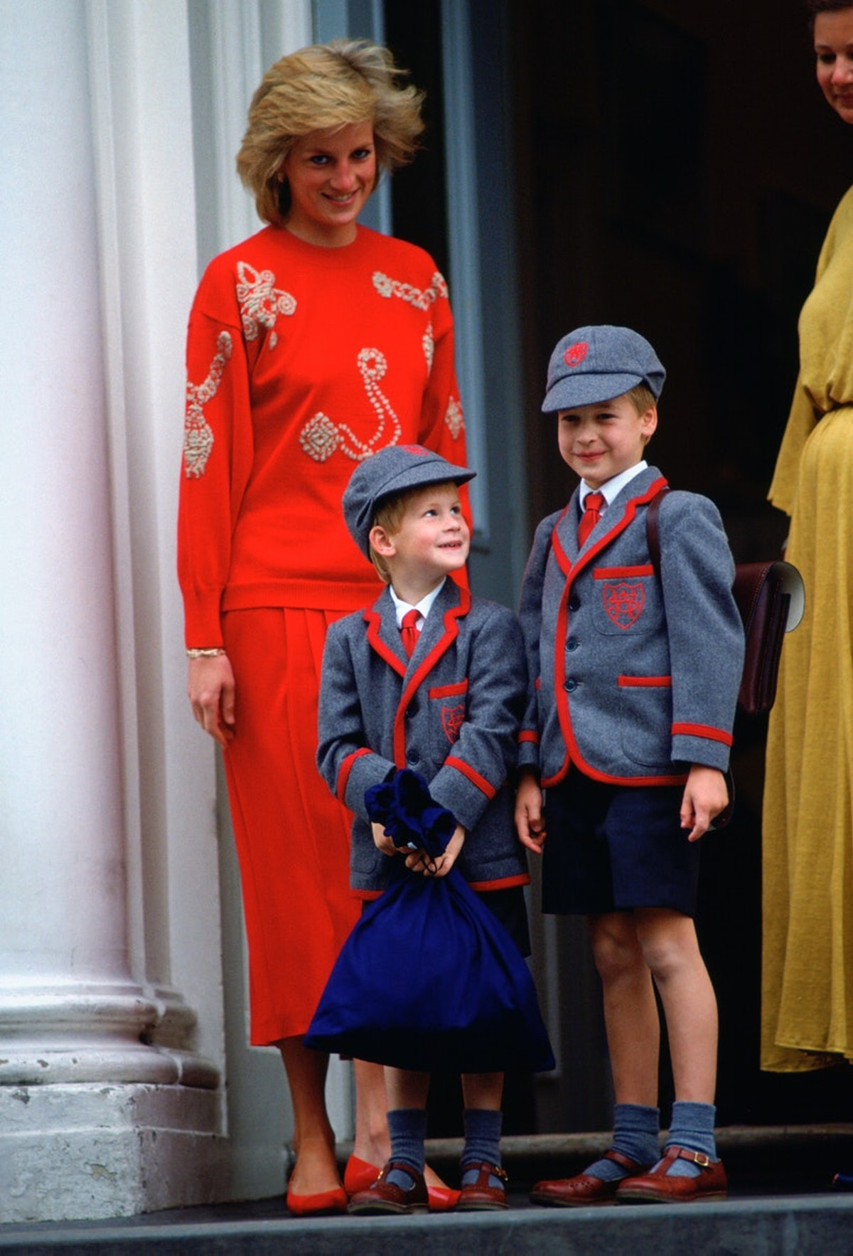 Royals Diana, Harry, and William