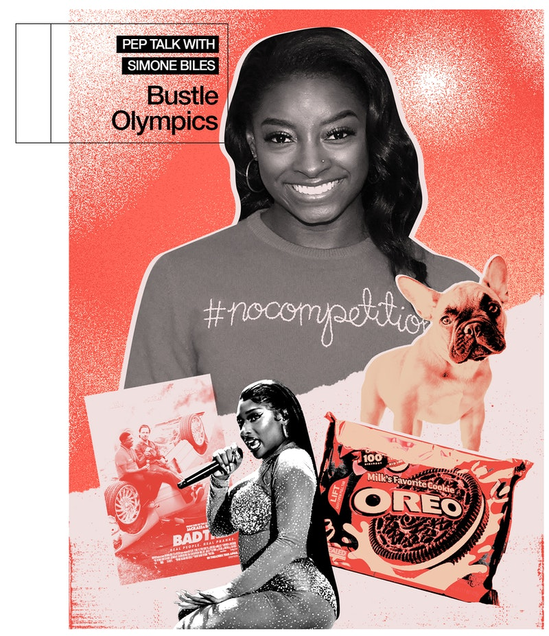 Simone Biles talks to Bustle about therapy, mental health, and her new boyfriend ahead of the Summer 2021 Olympics.
