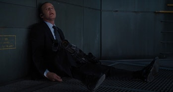 Phil Coulson death in The Avengers