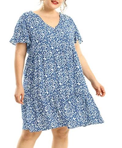 Shiaili Flowy Summer Dress