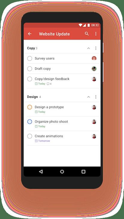 Todoist is a great organization app.