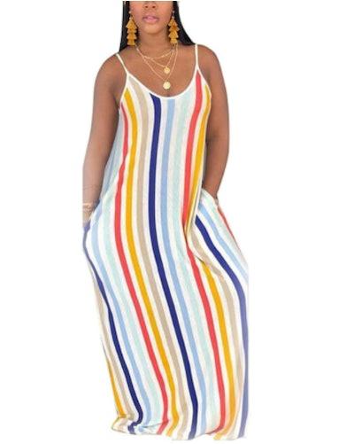 WOOSEN Maxi Dress with Pockets