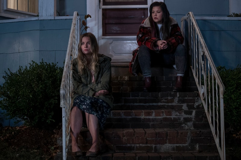 Annie Murphy and Mary Hollis Inboden in Kevin Can F**K Himself via AMC Press Site