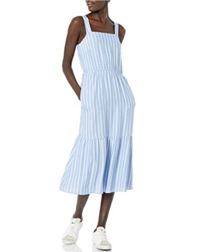 Amazon Essentials Twill Tiered Summer Dress