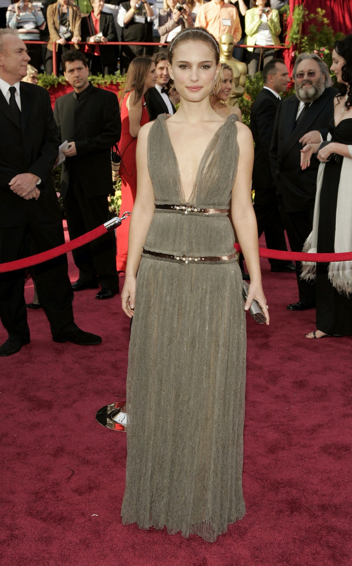 Natalie Portman at the Oscars in 2005.