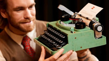 Lego has created a typewriter kit that features 2,079 pieces.