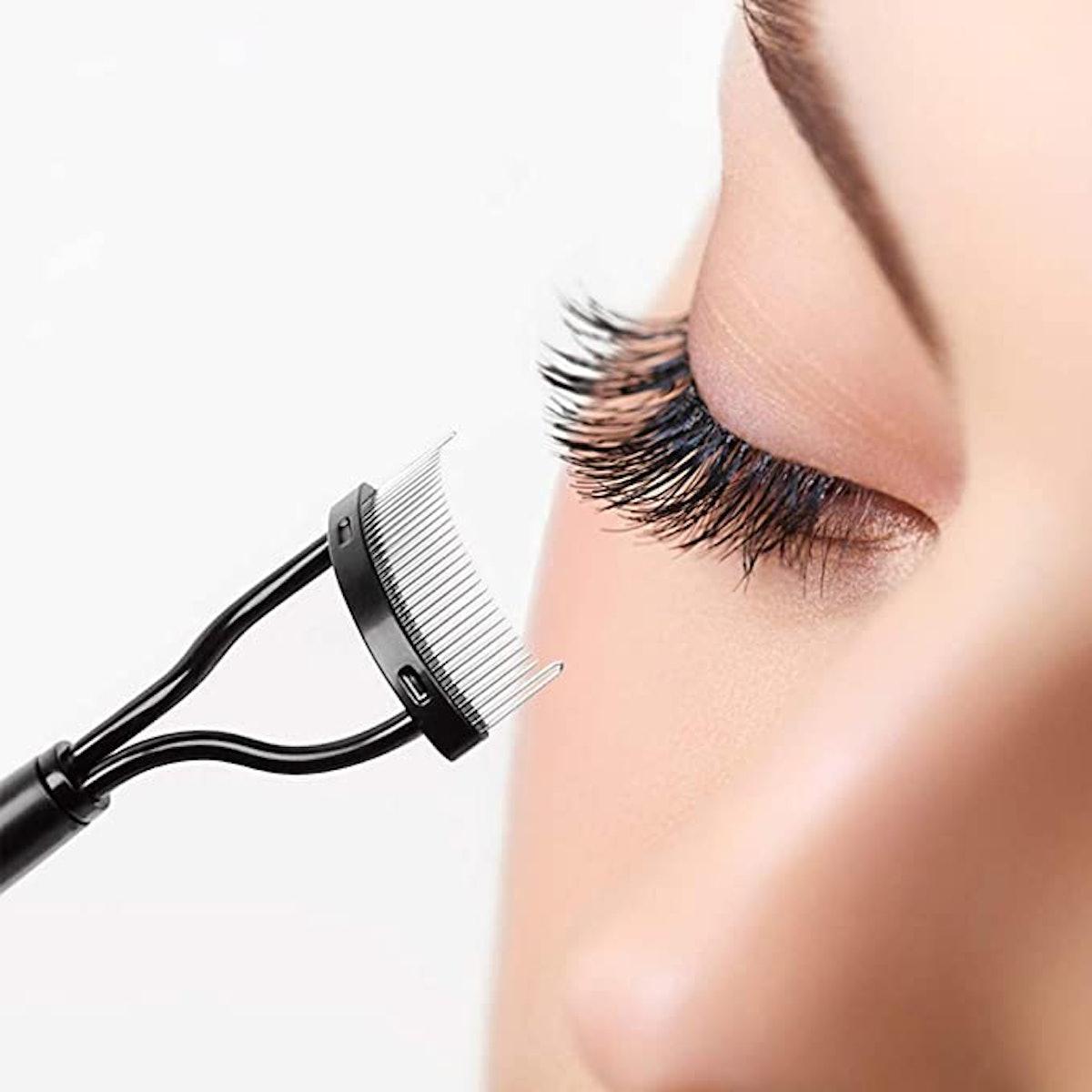 TEOYALL Eyelash Comb (2-Piece)