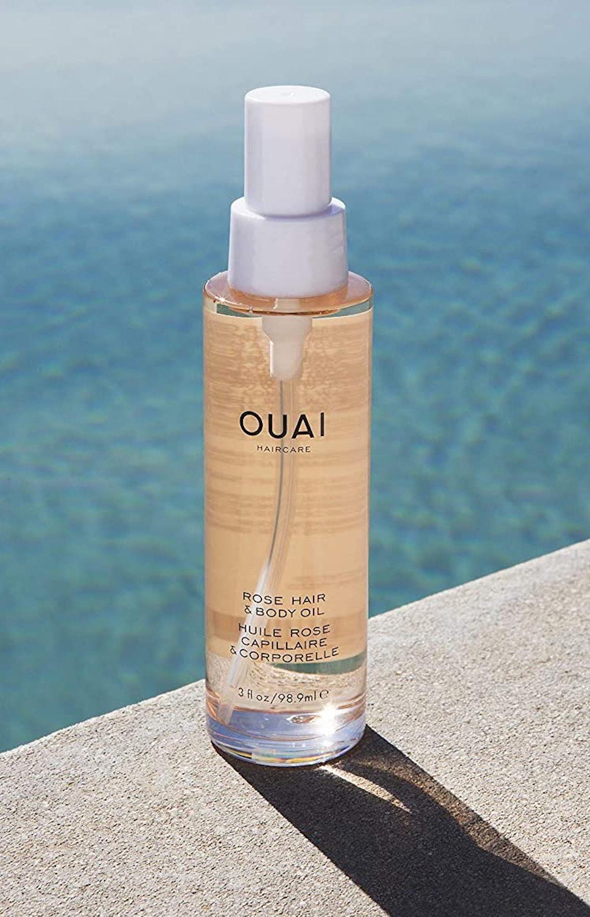 OUAI Fast Absorbing Luxurious Rose Hair & Body Oil