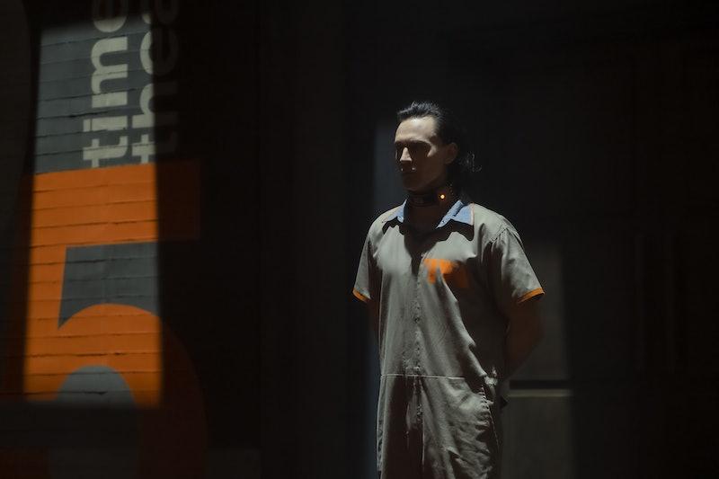 Tom Hiddleston as Loki on 'Loki' via the Disney+ press site