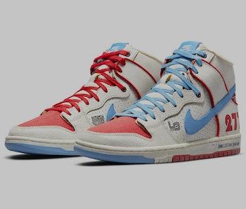 Ishod Wair x Magnus Walker Nike SB Dunk High Pro